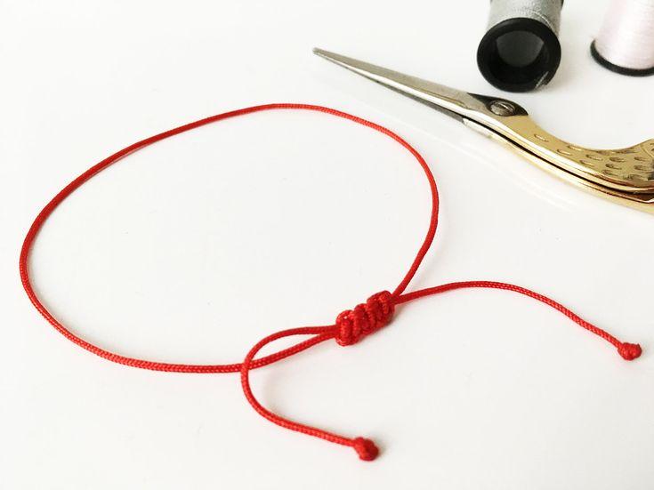 bracelet georgette rouge. Black Bedroom Furniture Sets. Home Design Ideas
