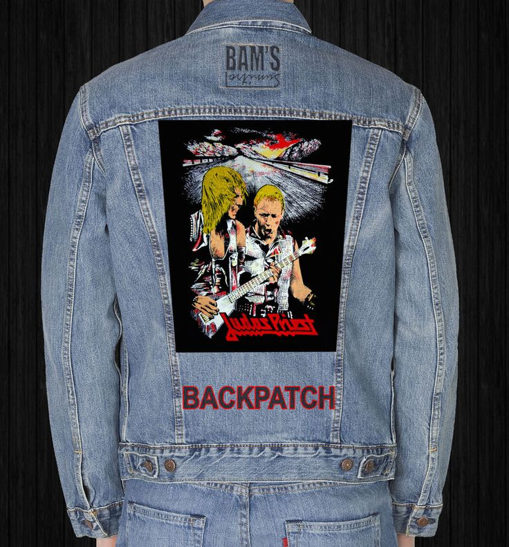 JUDASPRIEST  GIANT BACKPATCH #Unbranded