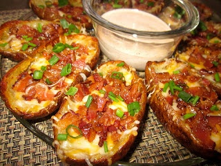 Potatoes, Cheese, & Bacon... Can it get any better?