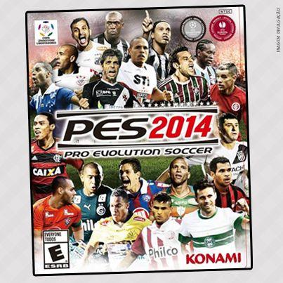 A Konami revelou a capa brasileira do game PES 2014. Quem CURTIU?  www.nagem.com.br