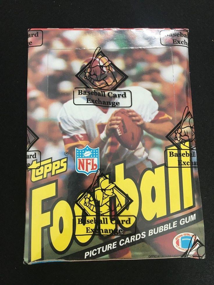 1983 topps football wax box bbce sealed marcus allen rc