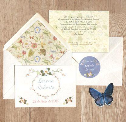 Invitaciones Mariposas