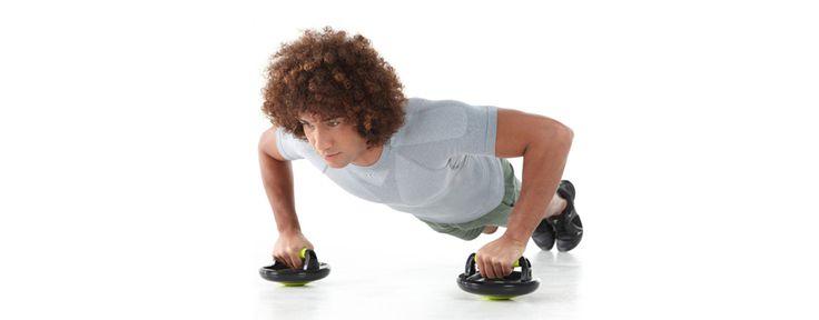 Video esercizi Push Up Gain, l'attrezzo indispensabile per il rafforzamento muscolare. Domyos ti accompagna nella pratica degli esercizi di tonificazione.