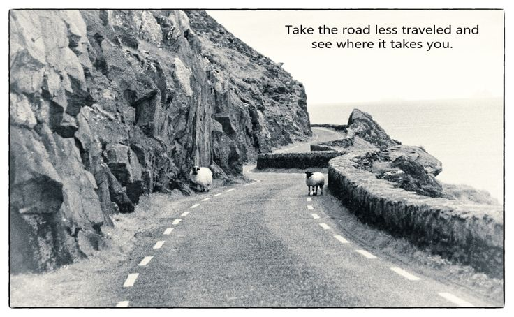 These are my favorite roads...