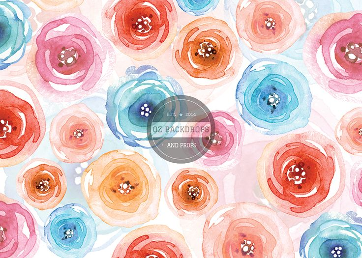 Pastel Petals - Oz Backdrops and Props