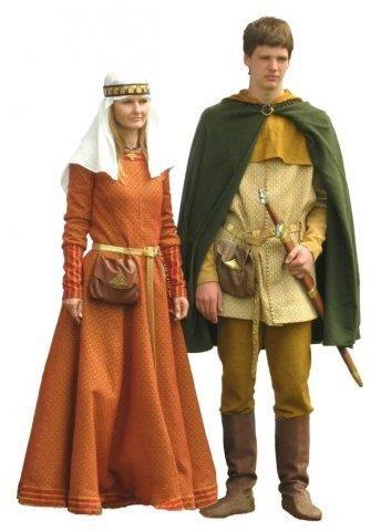 Костюмы вкл 14 век
