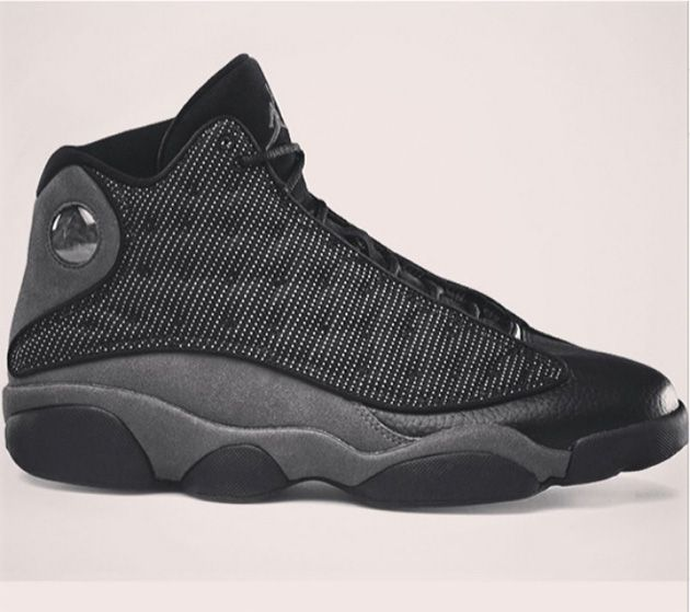 Air Jordan XIII - Black / Anthracite (Zima 2014) - Zajawka