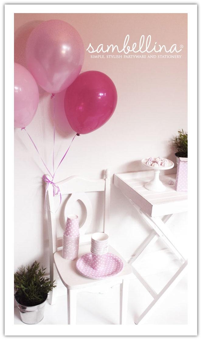 Pink Pastel Partyware