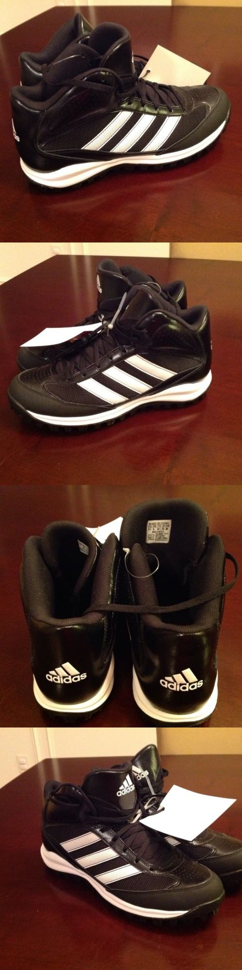 Mens 159059: Adidas Turf Hog Lx Mid High Turf Cleats Football Baseball New Size 9.5 BUY IT NOW ONLY: $37.0