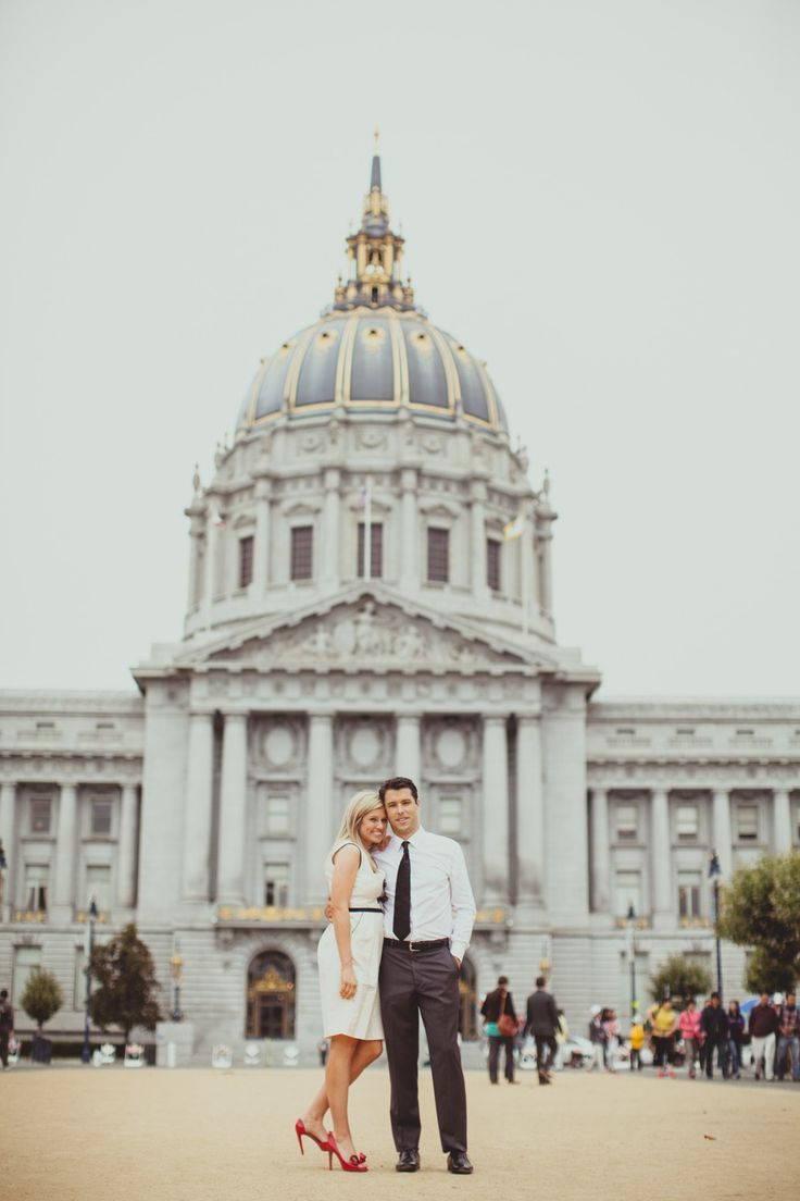 Photography : iqphoto.com/ | City hall weddig gown ideas: