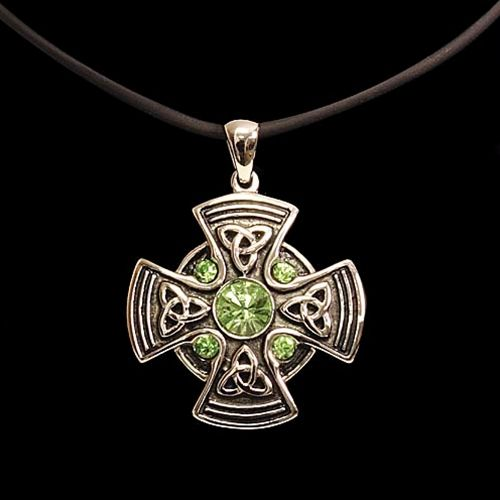 Celtic Mandala Pendant - Celtic Jewelry Medieval Pendants $23