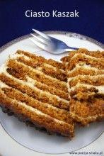Ciasto o wielu nazwach: miodownik, miodowiec, ciasto greckie, kaszowiec, miodowa stefanka, ciasto z kaszą, a dla mnie po prostu... kaszak.