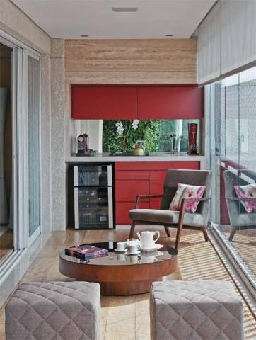 5 projetos de varandas multiúso que valorizam os apartamentos   Casa