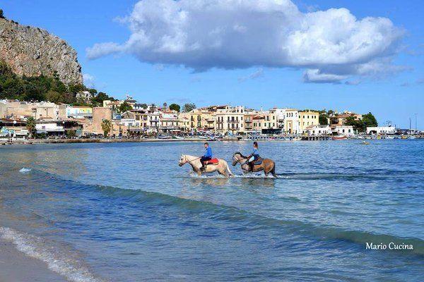 Horseback riding in Sicily  #visitsicilyinfo #familyholiday