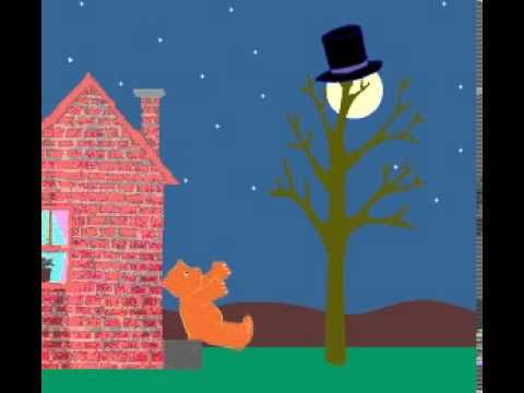 happy birthday, moon animated on YouTube. Very cute...my kids really enjoyed it!