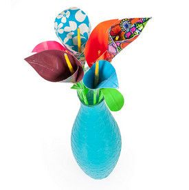 Duck Tape Calla Lilies | Brighten up a room with flowers that will never wilt.
