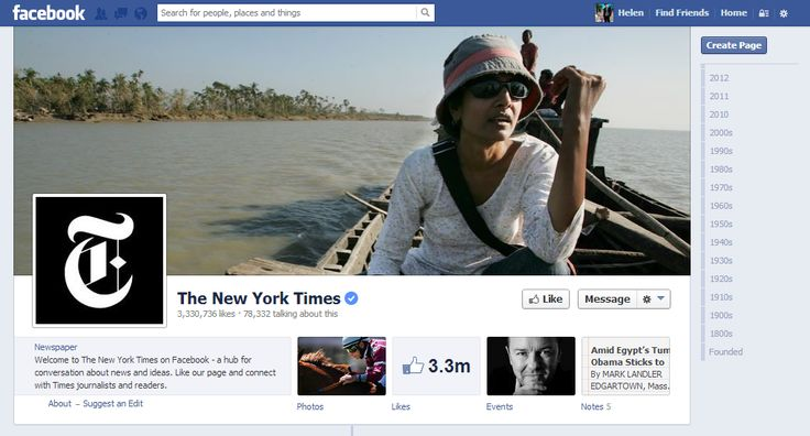 nytimes.com goes offline and directs 9m Twitter followers to Facebook. PR stunt?
