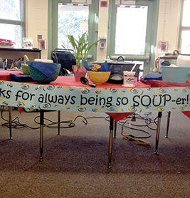 Simply soup | Creative Ideas for Teacher Appreciation | PTOToday.com