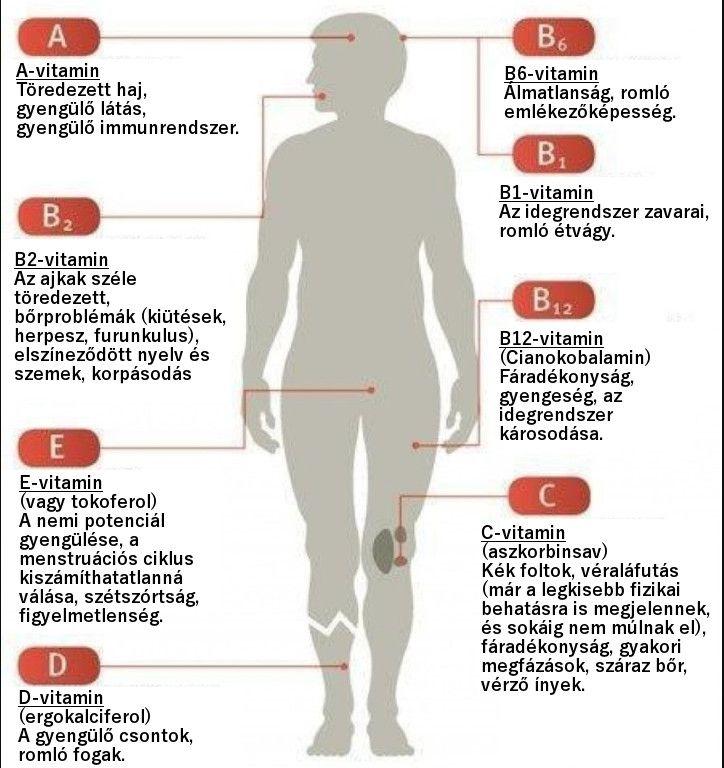 Ebből a vitaminból van hiány a szervezetedben, ha ezek a tüneteid vannak!