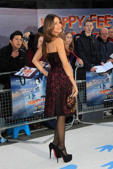 Sofia Vergara Photos: Sofia Vergara at the 'Happy Two Feet' Premiere in London