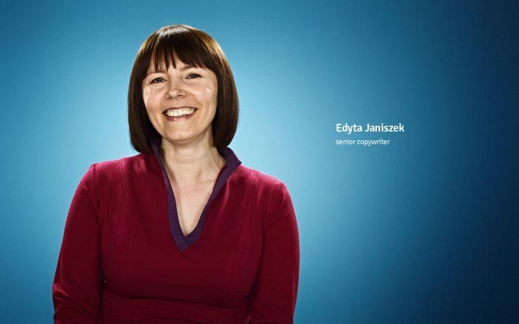 Edyta Janiszek senior copywriter