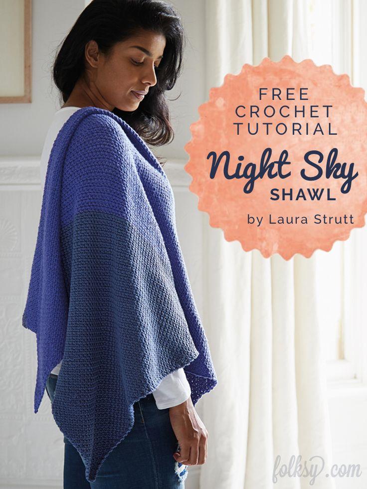 26 best Wearing crochet shawls images on Pinterest ...
