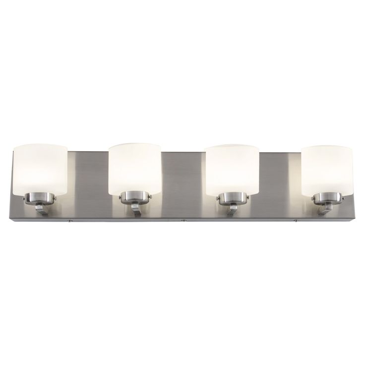 Best Photo Gallery Websites Alternating Current Clean Light LED Vanity Light Satin Nickel A bathroom isn ut just a bathroom with the Rogue Decor Clean Light LED Vanity Light