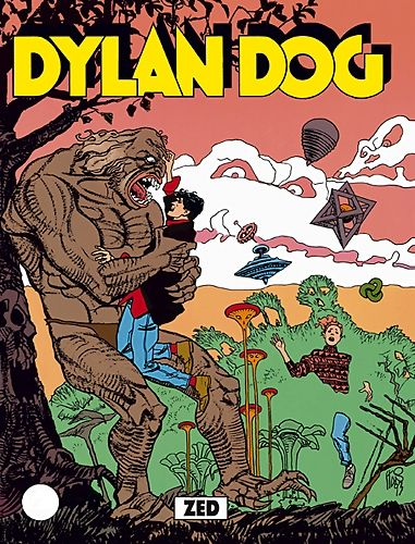 Zed - Dylan Dog - Sergio Bonelli