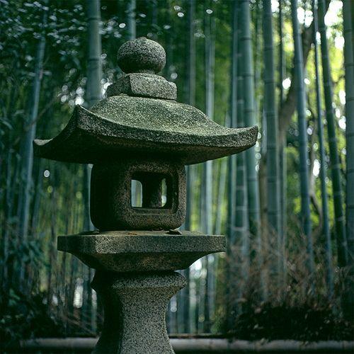 Stone Lantern by realbelgianwaffles