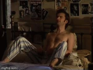 Tenny Confidential-A David Tennant/Dr Who Blog, Shirtless Tenny in pajamas ...