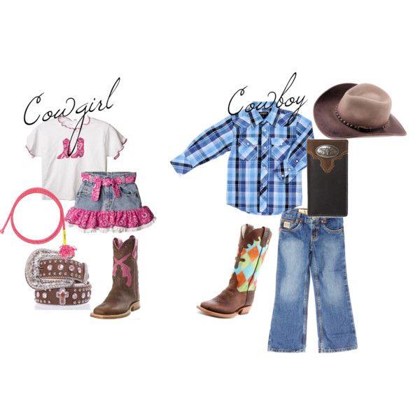 Kids Western Wear, created by pfiwestern.polyvore.com