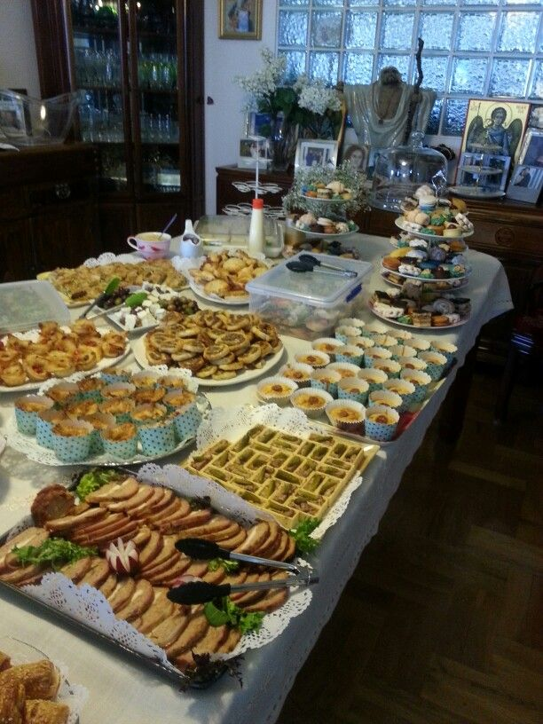 Lunch ideas for baby shower