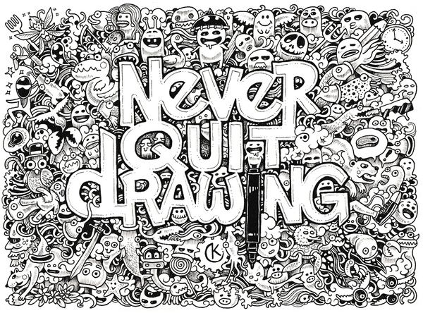 Never Quit Drawing Interview