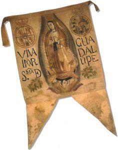 Bandera Estandarte de Hidalgo