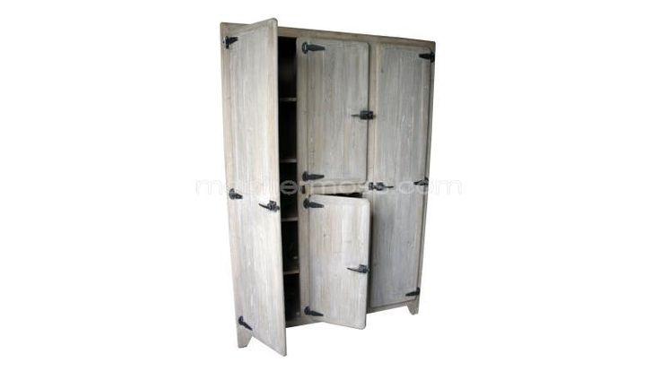 Vaisselier raymond en bois 4 portes buffet de f te et ps for Retaper un meuble en bois