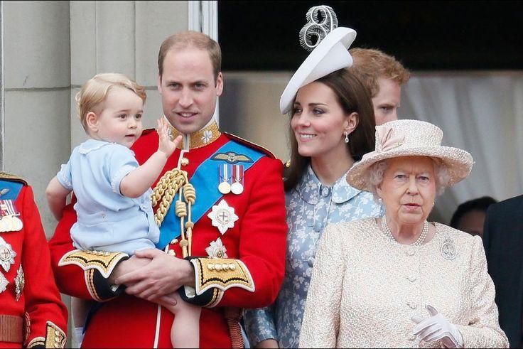 La duchesse de Cambridge, née Kate Middleton, au Trooping the Colour, le 13 juin 2015