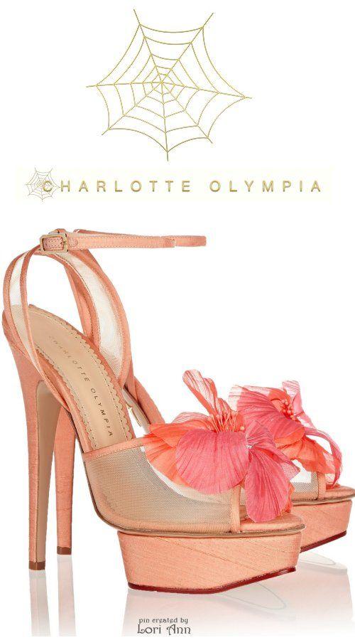 Charlotte Olympia Leila Poplin