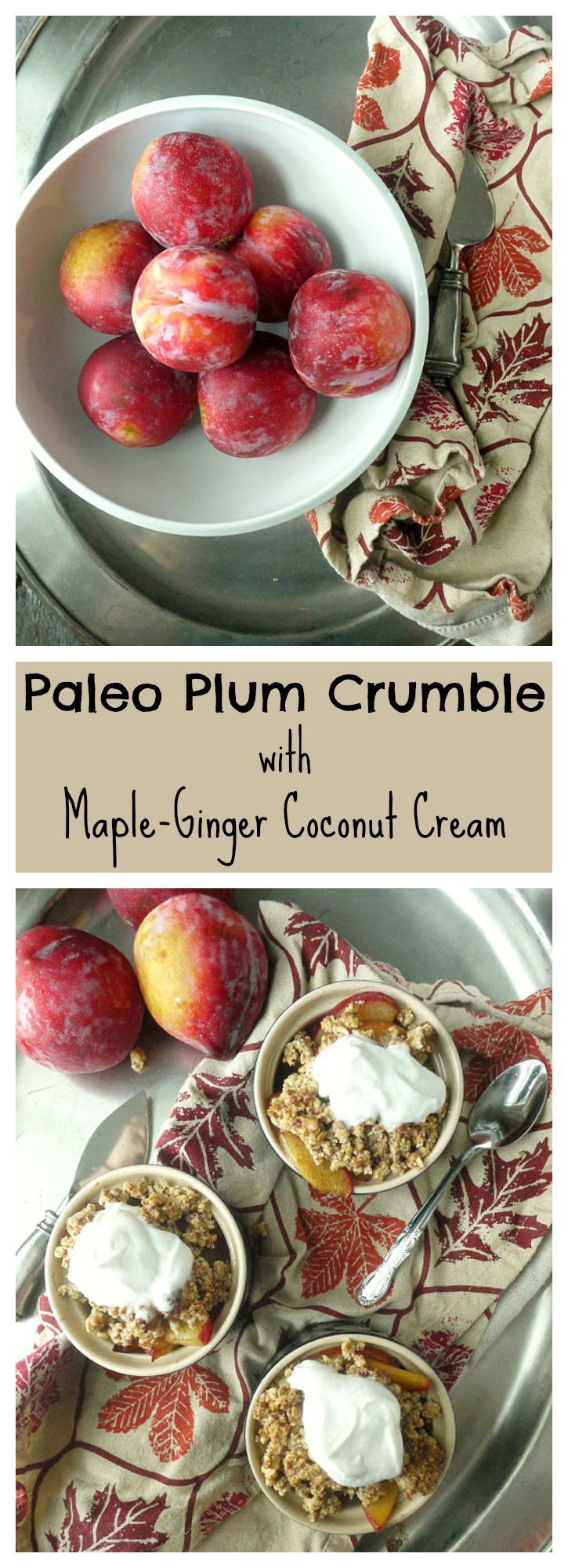 This delectable dessert is #paleo and #vegan! It's a great way to use ...