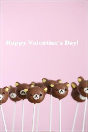 「【バレンタイン】リラックマのケーキポップス」momo。   お菓子・パンのレシピや作り方【corecle*コレクル】
