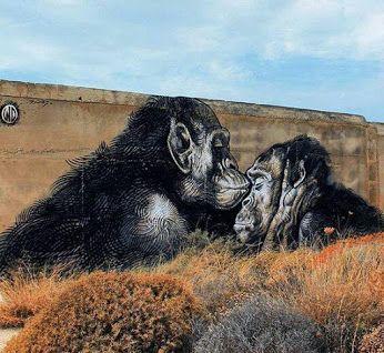 Street Art by WD in Greece.