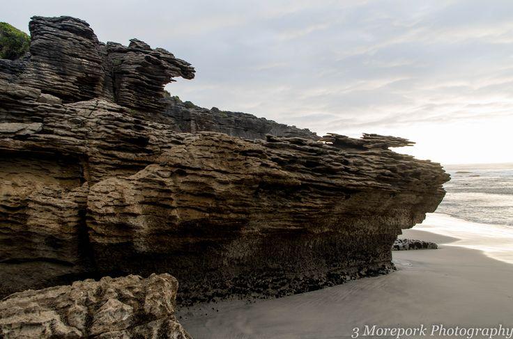 Limestone cliffs, Te Hapu, West Coast of South Island