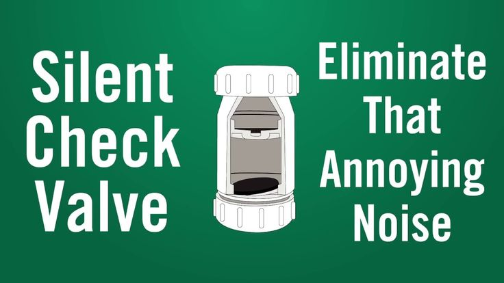 Have you noticed an annoying banging sound that occurs when your sump pump or sewage ejector is running? Immediately eliminate this sound with A.Y. McDonald's silent check valves. Watch this video to find out what causes the noise and how this check valve works its magic.