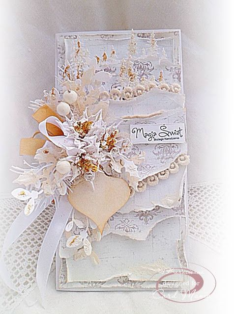 """.: CMC # 73 """"1 Digi, 2 Patterned papers, 3 Embellishments"""" - DT Card Mania"""