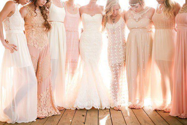 Simple Cream Wedding Dresses Image 0 Colored: 25+ Best Ideas About Cream Bridesmaid Dresses On Pinterest