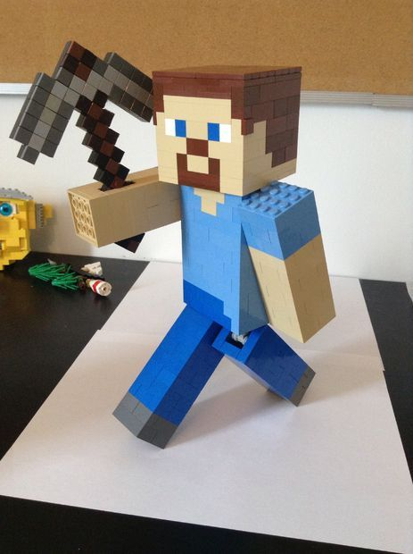 Picture of Lego Minecraft Steve