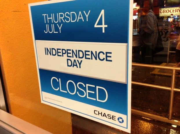 Independence Day Bank Hours 2013 - http://www.creditvisionary.com/independence-day-bank-hours-2013