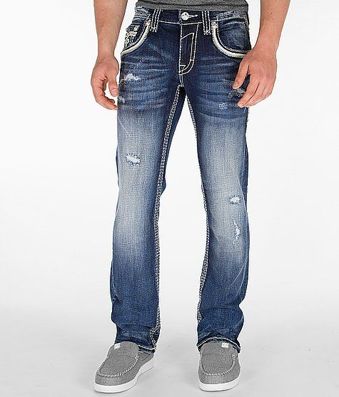 U0026#39;Rock Revival Tyme Slim Straight Jeanu0026#39; #buckle #fashion Www.buckle.com | Edgy Menu0026#39;s Style ...