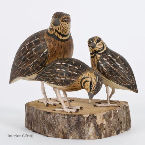 Best archipelago bird wood carving sculptures