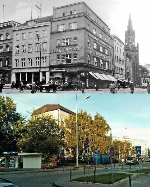 Koenigsberg damals,Kaliningrad heute