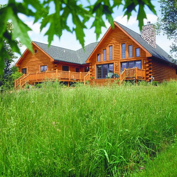 Log Home Exterior Ideas: 17 Best Ideas About Log Homes Exterior On Pinterest